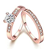 Best Aooaz Promise Rings - Aooaz Jewelry Promise Ring 18K Rose Gold Plated Review