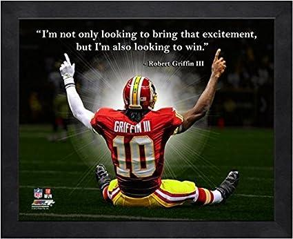 Robert Griffin III RG3 Washington Redskins NFL framed Pro Quotes 16x20 115e4653b