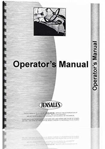Allis Chalmers 102 Rotary Cultivator Operators Manual