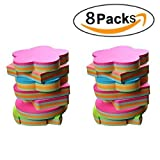 8 Packs Post Note Creative Sticky Note Self-stick Note