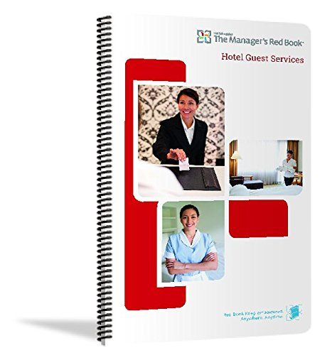 The Managers Red Book - Hotel Guest Services communications logbook, 8.5x14 quarterly, 230 pages, 2 daily pages (F4047) (October - December 2018)