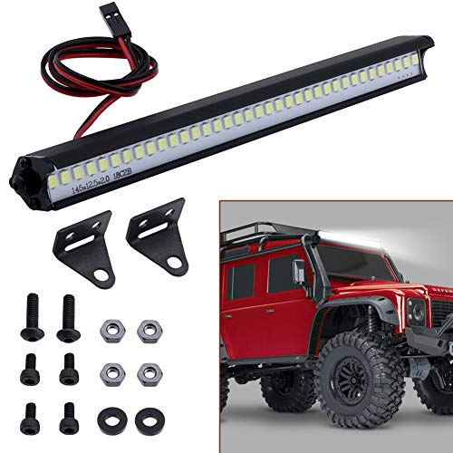 Hobbypark RC Light Bar Roof Lamp Kit for 1/10 Scale RC Crawler Car Traxxas TRX4 Axial SCX10 Wraith RC4WD D90 Gen7 Gen8