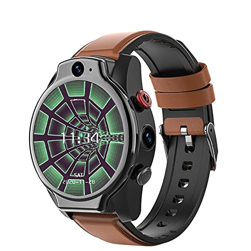 4G WiFi Smart Horloge GPS Dual Camera Gezicht ID Android 10 Intelligente Polsband IP68 Waterdicht 1100 Mah Batterij 1.6…