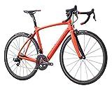 Kestrel Legend LTD Sram Etap Road Bike, Medium/55 cm, Satin Red Orange/Gloss Black Advanced Sports International - Bike