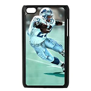 Detroit Lions iPod Touch 4 Case Black persent zhm004_8581662