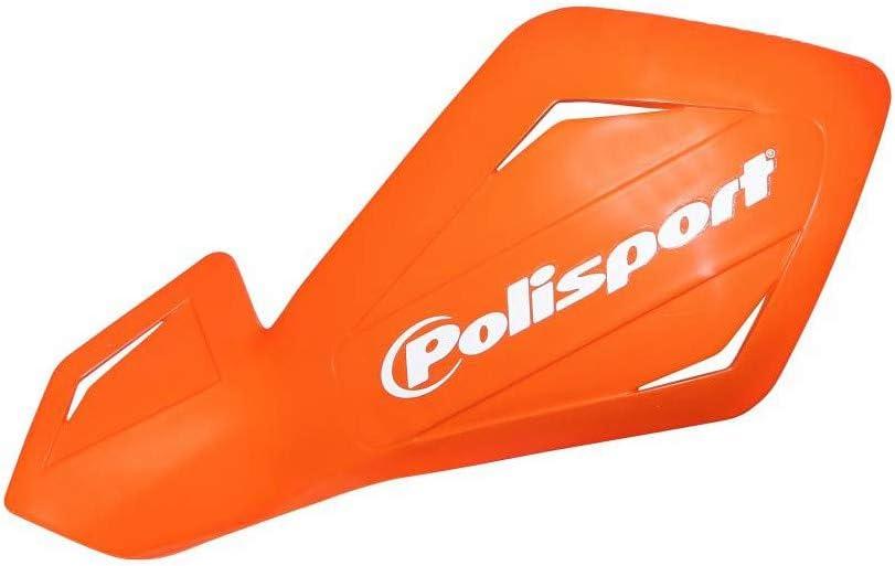 Protege Main 50 a Boite polisport Version Ouvert freeflow Lite Decal Orange KTM Fixation Plastique