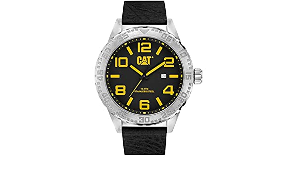 Amazon.com: CAT WATCHES - NH 141 34 137 - MEN - CAMDEN XL DATE 52MM: CAT WATCHES: Watches