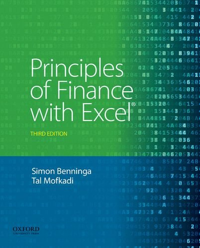 Principles Of Finance W/Excel