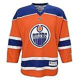 NHL Edmonton Oilers Boys 8-20 Third/Alternate Color Replica Jersey, Small/Medium, Orange