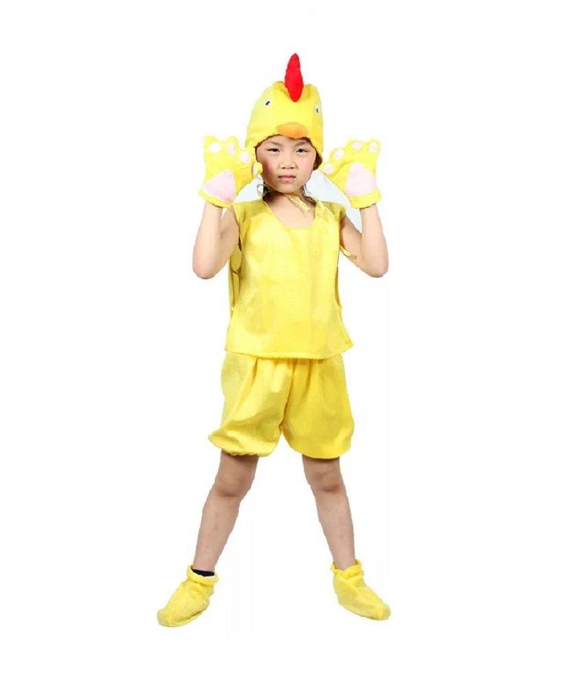 MATISSA Disfraz infantil sin mangas para fiesta de pijama o cosplay