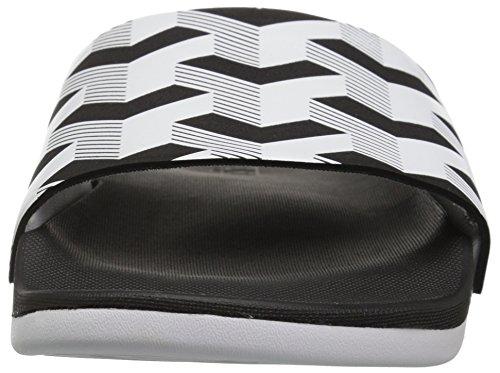 Adidas Heren Adilette Cf + Koppeling Gr Dia Sandaal Kern Zwart / Wit / Kern Zwart
