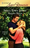Small-Town Family, Margaret Watson, 0373714203