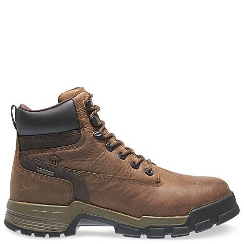 Wolverine Men's W10148 Gear Boot, Brown, 14 M US (Wolverine Boots Gear)