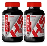 Product review for anti-aging supplement - MELATONIN 3MG - blood pressure diet - 2 Bottles (180 Lozenges)
