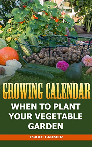 Growing Calendar: When To Plant Your Vegetable Garden by [Farmer, Isaac ]