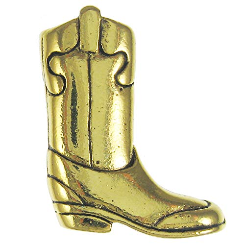 Jim Clift Design Cowboy Boot Gold Lapel Pin - 1 Count