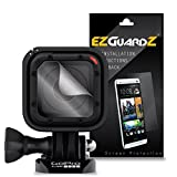 (5-Pack) EZGuardZ Screen Protector for GoPro Hero 4 Session Lens (Ultra Clear)