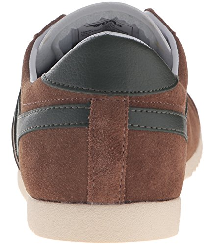 Gola Mens Proiettile Tabacco Sneaker Moda In Pelle / Khaki