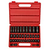 "Neiko® 02443A Complete 3/8"" and 1/2"" Drive Impact Socket Set, CR-V Steel 