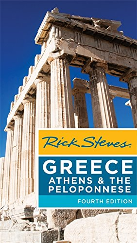 Rick Steves Greece: Athens & the Peloponnese cover