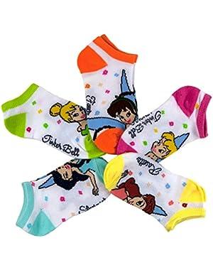 Fairies - Character Kids Girls Socks 5-Pack