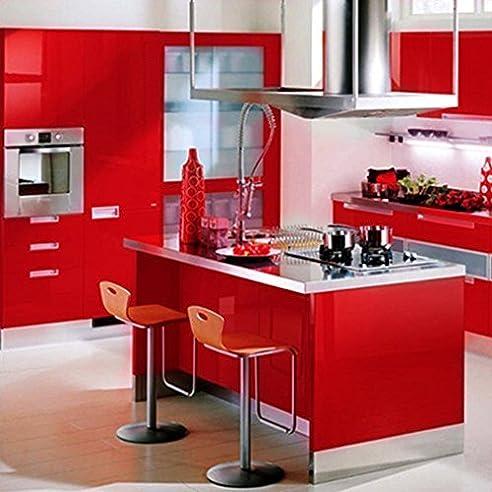 Schönes Leben* 5x0.6M Küchenschrank-Aufkleber küchenfolie ...