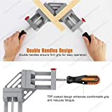 Housolution Right Angle Clamp, Double Handle