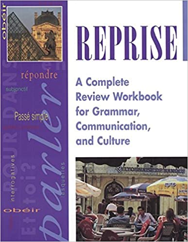 Amazon reprise a complete review workbook for grammar reprise a complete review workbook for grammar communication and culture french 1st edition fandeluxe Gallery