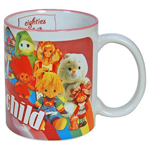 Eighties Child Gift Boxed Mug 80s Trollz Cabbage Patch dolls