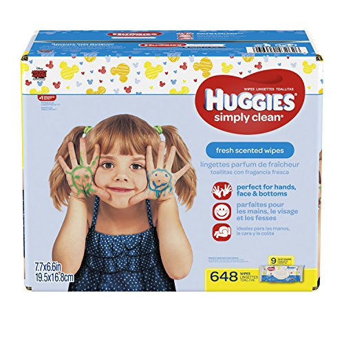HUGGIES Simply Clean Wipes Packaging