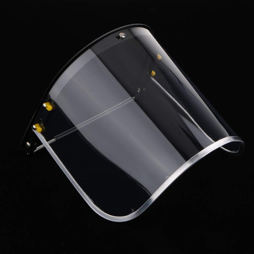 Klare Gesichtsmaske Schutz Ersatzlinse Helm Visier Polycarbonat