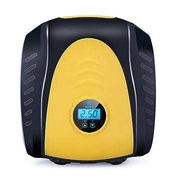 Neumático portátil eléctrico para inflar con Aire del compresor de Aire del Coche 120W Vehículo aéreo Ride Bomba Accesorios Automóvil Universal: Amazon.es: ...