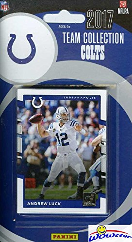Indianapolis Colts Football Card - Indianapolis Colts 2017 Donruss NFL Football Factory Sealed Limited Edition 12 Card Complete Team Set with Andrew Luck,T.Y. Hilton, Frank Gore & Many More! Shipped in Bubble Mailer! WOWZZER!