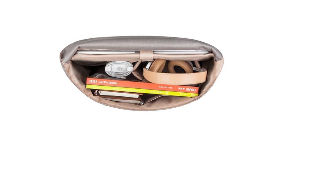 Moshi Aerio Messenger Bag for up to 15'' MacBook Pro (Titanium Gray - 99MO082701) by Moshi