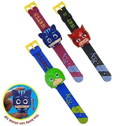 Game, Fun, Pyjamasques Anime Watch Toy Pj Cartoon Mask Connor Greg Amaya Children Cosplay