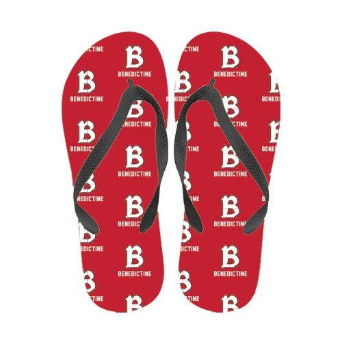 Benedictine Full Farge Flip Flops Benedictine Stablet Med B