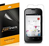[6-Pack] Supershieldz- Anti-Glare & Anti-Fingerprint (Matte) Screen Protector For Huawei T-Mobile PRISM II U8686 + Lifetime Replacements Warranty [6-PACK] - Retail Packaging