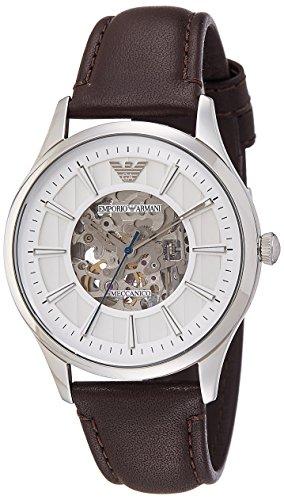 Emporio Armani Men's AR1946 Dress Brown Leather Watch