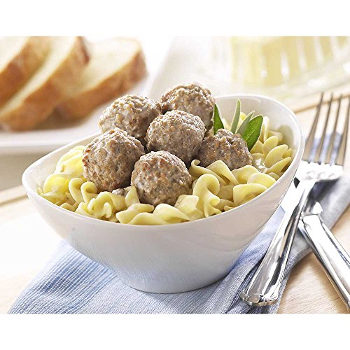 Rosina Food Swedish Pork and Beef Meatball, 0.5 Ounce, 5 Pound bag -- 2 per case. (Best Frozen Swedish Meatballs)