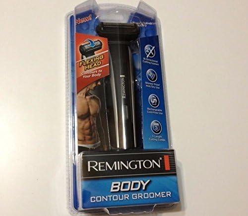 Remington BHT-300 batería cuerpo Trimmer & Groomer con flexión ...