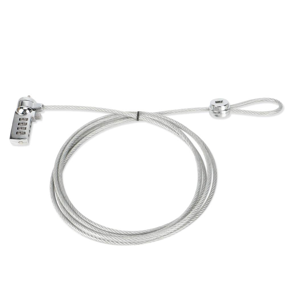 Laptop Lock, Sarissa Notebook Laptop Combination Security Cable Lock for notebooks and Other Devices