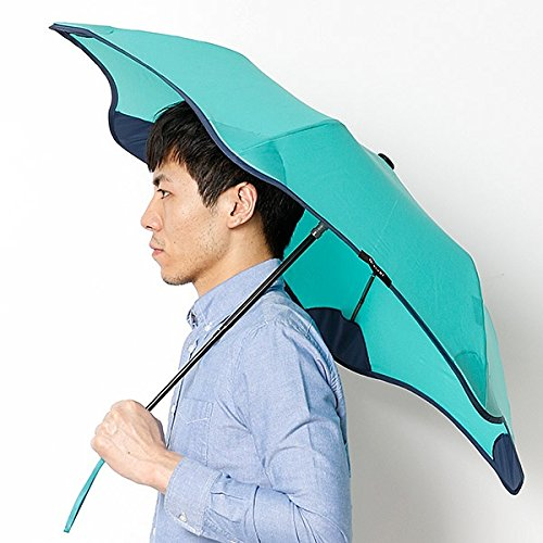 ブラント(BLUNT) 【空気力学による風に強い構造6色展開】ユニセックス折りたたみ傘(メンズ/レディース雨傘) B071JZTYFP 51 61ミントグリン 61ミントグリン 51