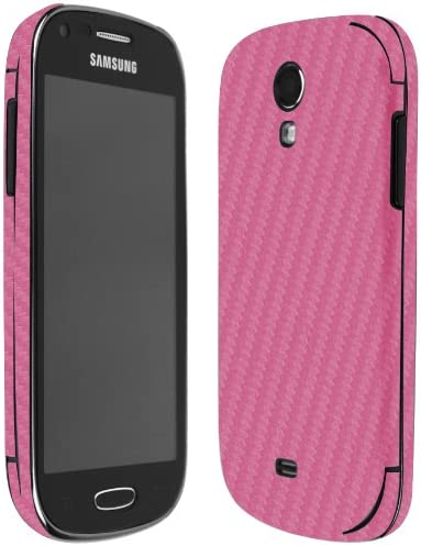 Full Coverage TechSkin with Anti-Bubble Clear Film Screen Protector Skinomi Pink Carbon Fiber Full Body Skin Compatible with Samsung Galaxy Note 4