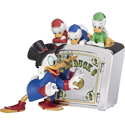 Precious Moments Disney #173702 Family Is Priceless - Duck Tales Bank