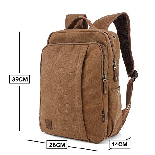 mochila de moda/Bolso de lona ocasional de los hombres/Bolsa de viaje/mochila/Los estudiantes de la secundaria masculino mochilas-E E