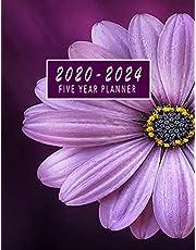 2020-2024 Five Year Planner: 2020-2024 Monthly Planner 8.5 x11 60 Months Calendar Featuring 2020-2024 Calendar Weekly Planner Monthly Schedule Organizer For To Do List Academic Schedule Agenda Logbook Student Teacher Organizer Journal for Planning