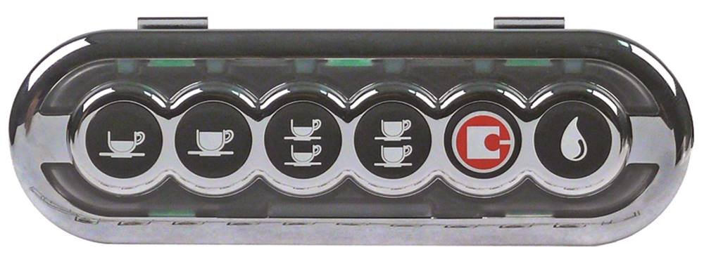 San Remo Teclado unidad 6 Botones para cafetera expreso Longitud ...