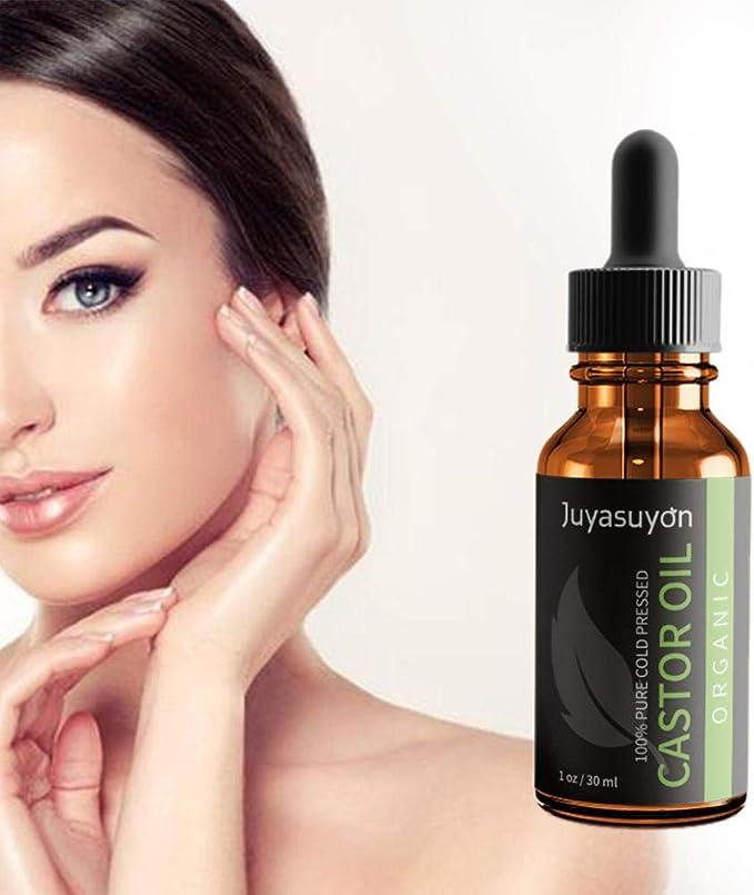 Aceite de ricino para masajes calmantes, esencia de masaje, aceite de rizina y cejas de ojos, para reparar las puntas del cabello.: Amazon.es: Salud y cuidado personal