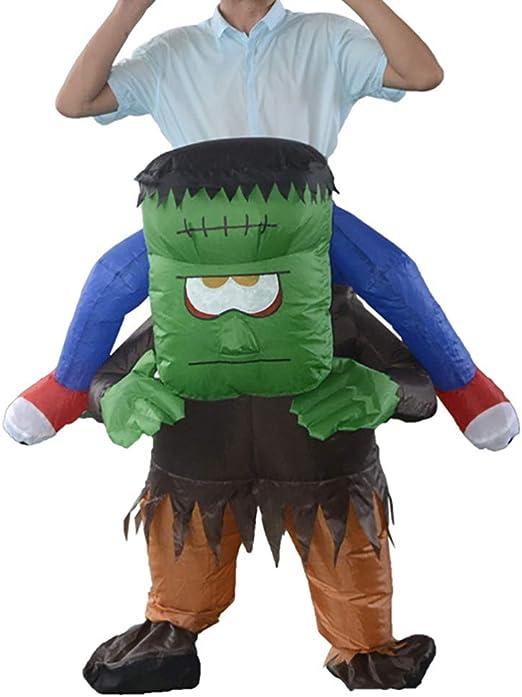 SSeir Halloween Frankenstein Inflable Disfraz Caminar Monturas ...