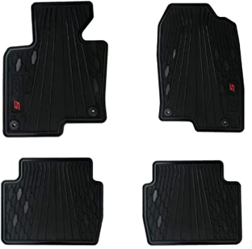 Amazon Com Floor Mats For Cx5 Mazda Fwd Oem Genuine Heavy Duty 2017 2018 2019 2020 2021 Complete Set Black Only For Fwd Versions Automotive